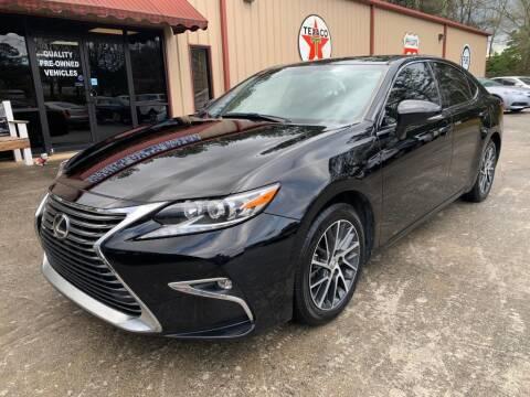 2016 Lexus ES 350 for sale at Daniel Used Auto Sales in Dallas GA