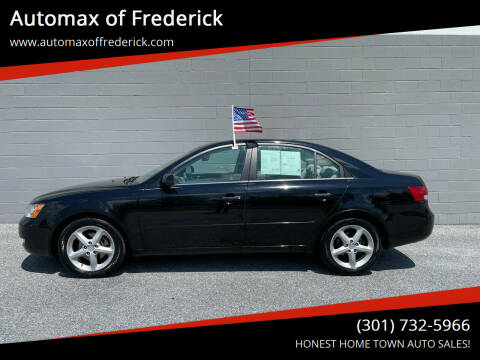 2007 Hyundai Sonata for sale at Automax of Frederick in Frederick MD