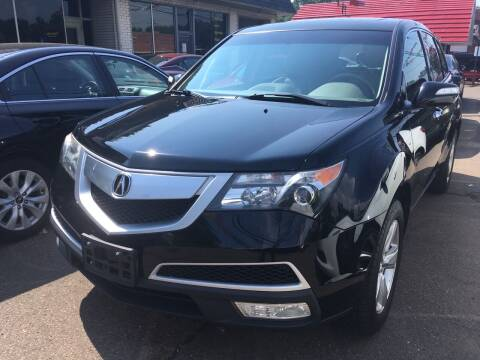 2012 Acura MDX for sale at MELILLO MOTORS INC in North Haven CT