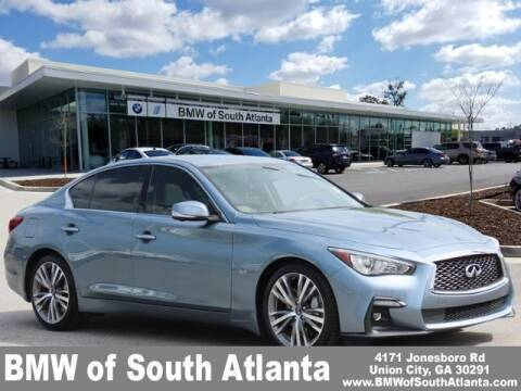 2018 Infiniti Q50 for sale at Carol Benner @ BMW of South Atlanta in Union City GA