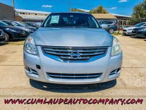2011 Nissan Altima for sale at MAGNA CUM LAUDE AUTO COMPANY in Lubbock TX