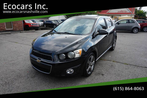 2013 Chevrolet Sonic for sale at Ecocars Inc. in Nashville TN