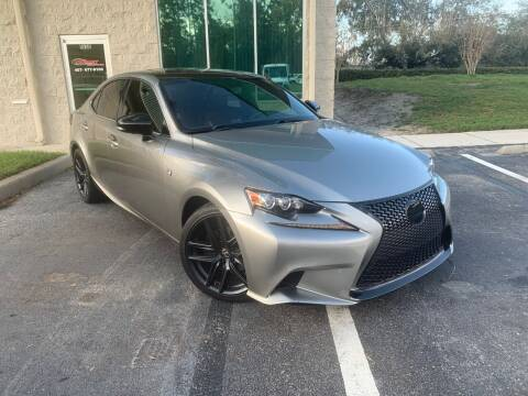 2015 Lexus IS 250 for sale at CARPORT SALES AND  LEASING in Oviedo FL