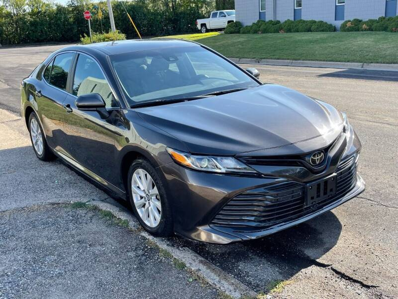 2019 Toyota Camry for sale at ACE IMPORTS AUTO SALES INC in Hopkins MN
