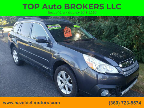 2013 Subaru Outback for sale at TOP Auto BROKERS LLC in Vancouver WA