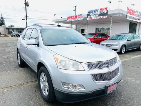 2010 Chevrolet Traverse for sale at Dream Motors in Sacramento CA