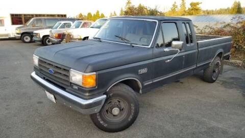 1988 Ford F-250 for sale at SS MOTORS LLC in Edmonds WA