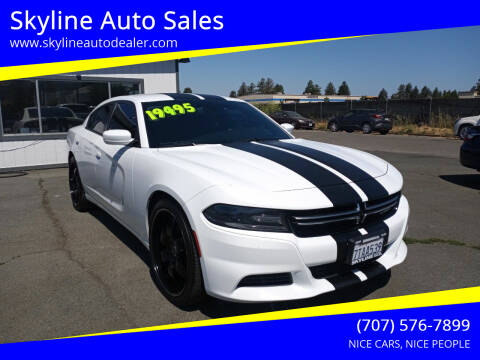 2016 Dodge Charger for sale at Skyline Auto Sales in Santa Rosa CA
