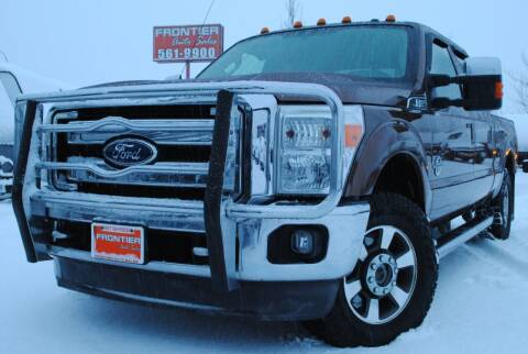 2011 Ford F-250 Super Duty for sale at Frontier Auto & RV Sales in Anchorage AK