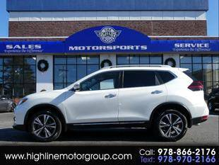 2018 Nissan Rogue for sale at Highline Group Motorsports in Lowell MA