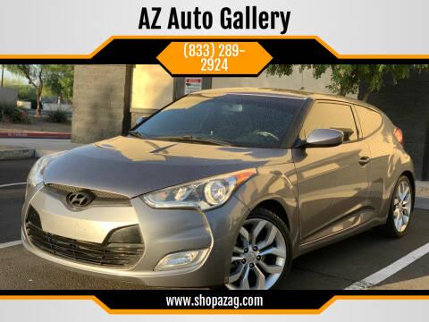 2013 Hyundai Veloster for sale at AZ Auto Gallery in Mesa AZ