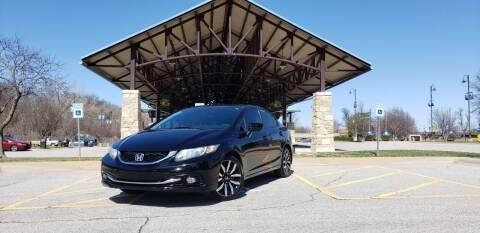 2014 Honda Civic for sale at D&C Motor Company LLC in Merriam KS