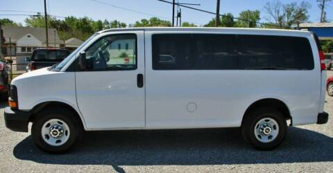 2013 Chevrolet Express Passenger for sale at Family Auto Sales of Mt. Holly LLC in Mount Holly NC