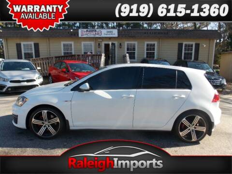 2016 Volkswagen Golf GTI for sale at Raleigh Imports in Raleigh NC