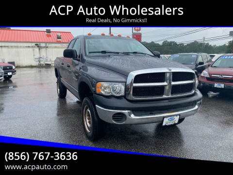 2004 Dodge Ram Pickup 2500 for sale at ACP Auto Wholesalers in Berlin NJ