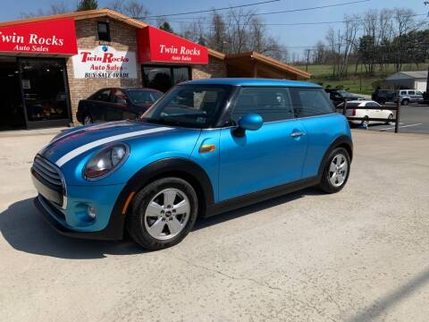 2015 MINI Hardtop 2 Door for sale at Twin Rocks Auto Sales LLC in Uniontown PA