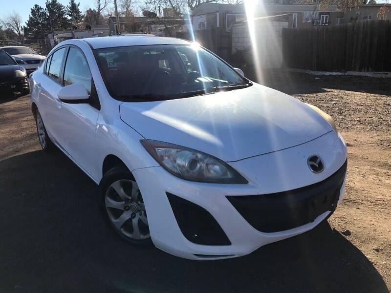 2010 Mazda MAZDA3 for sale at 3-B Auto Sales in Aurora CO