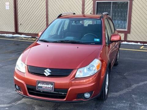 2009 Suzuki SX4 Crossover for sale at Anamaks Motors LLC in Hudson NH