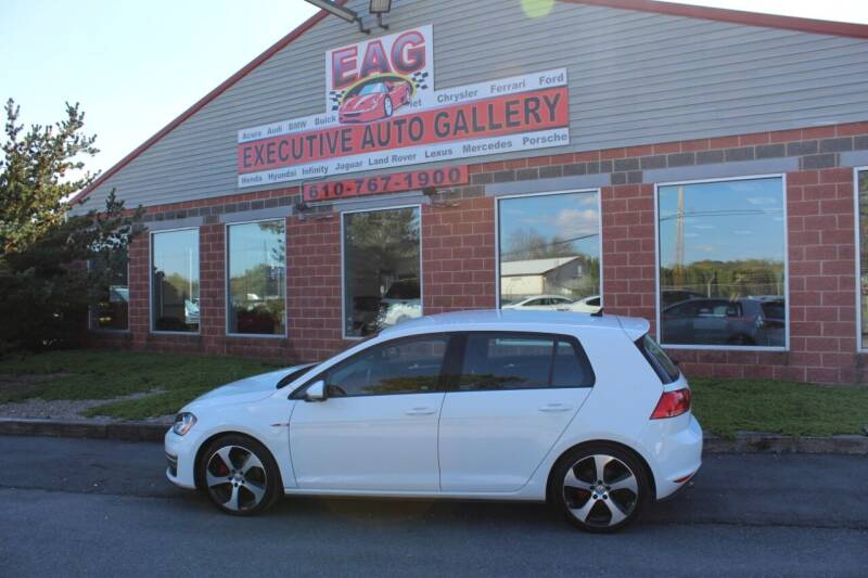 2017 Volkswagen Golf GTI for sale at EXECUTIVE AUTO GALLERY INC in Walnutport PA
