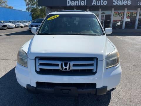 2008 Honda Pilot for sale at Daniel Auto Sales inc in Clinton Township MI