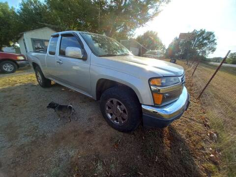 2012 GMC Canyon for sale at C & R Auto Sales in Bowlegs OK