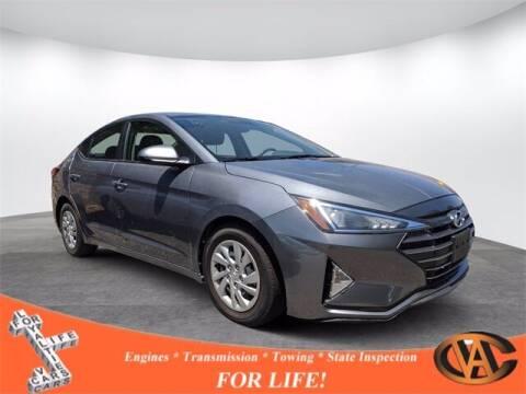 2019 Hyundai Elantra for sale at VA Cars Inc in Richmond VA