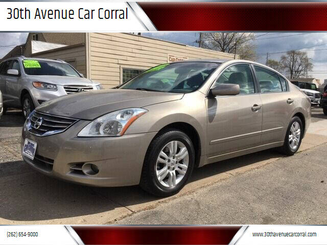 2012 Nissan Altima for sale at 30th Avenue Car Corral in Kenosha WI