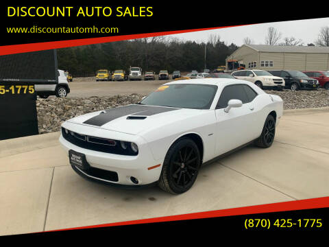 2017 Dodge Challenger for sale at DISCOUNT AUTO SALES in Mountain Home AR