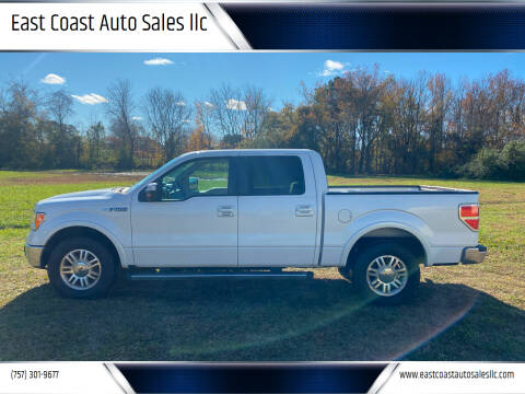 2012 Ford F-150 for sale at East Coast Auto Sales llc in Virginia Beach VA