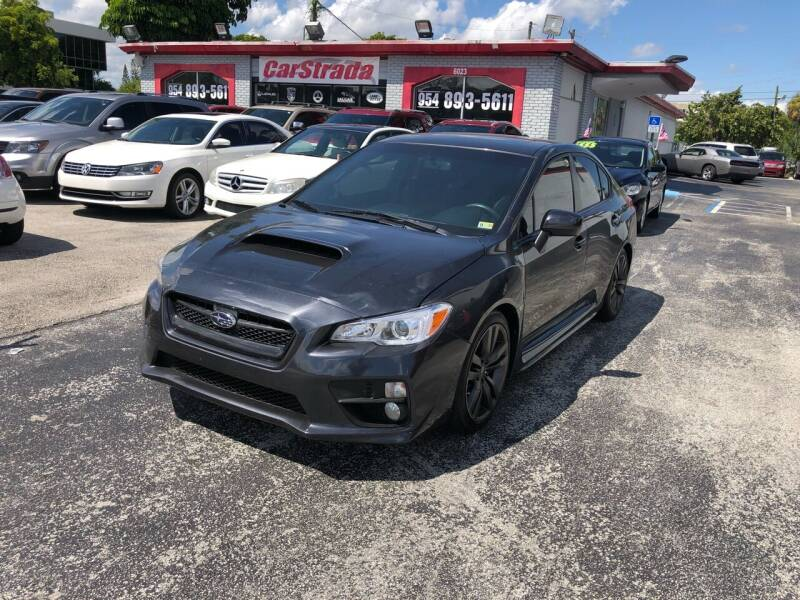 2016 Subaru WRX for sale at CARSTRADA in Hollywood FL