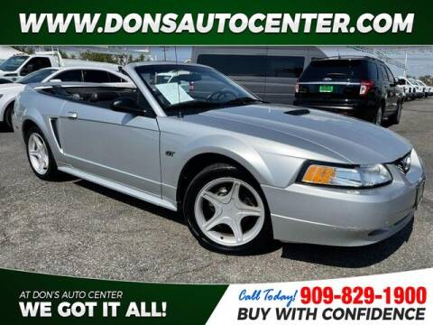2000 Ford Mustang for sale at Dons Auto Center in Fontana CA
