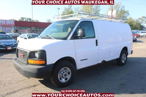 2005 GMC Savana Cargo for sale at Your Choice Autos - Waukegan in Waukegan IL