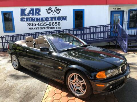 2001 BMW 3 Series for sale at Kar Connection in Miami FL