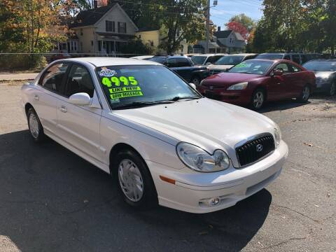 2004 Hyundai Sonata for sale at Emory Street Auto Sales and Service in Attleboro MA