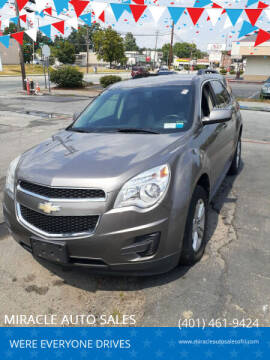 2011 Chevrolet Equinox for sale at MIRACLE AUTO SALES in Cranston RI