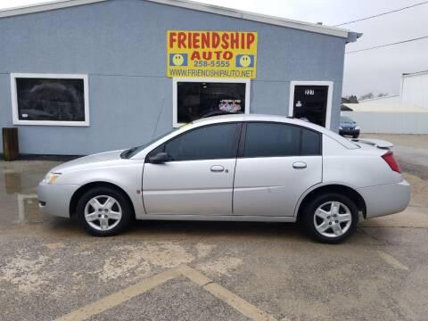 2007 Saturn Ion for sale at Friendship Auto Sales in Broken Arrow OK