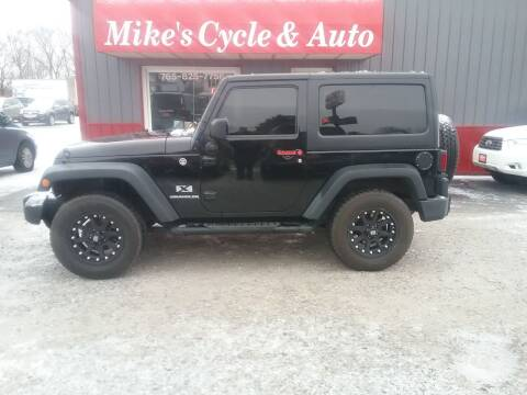 2009 Jeep Wrangler for sale at MIKE'S CYCLE & AUTO in Connersville IN