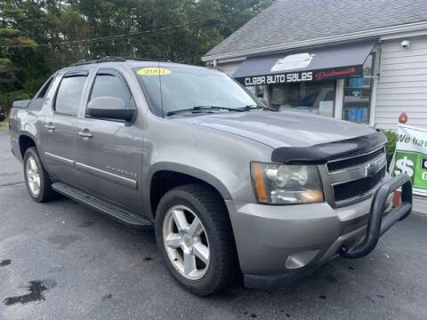 2007 Chevrolet Avalanche for sale at Clear Auto Sales in Dartmouth MA