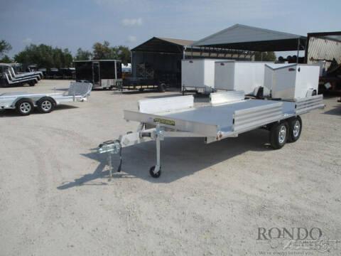 2022 Aluma Utility A8816TA-EL-R for sale at Rondo Truck & Trailer in Sycamore IL