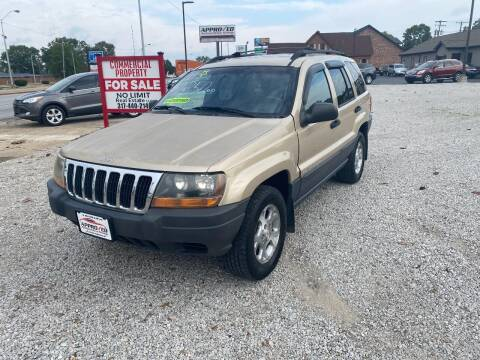 1999 Jeep Grand Cherokee for sale at Approved Automotive Group in Terre Haute IN