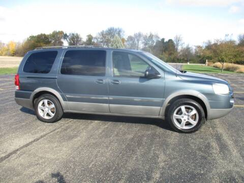 2005 Pontiac Montana SV6 for sale at Crossroads Used Cars Inc. in Tremont IL