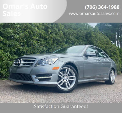 2013 Mercedes-Benz C-Class for sale at Omar's Auto Sales in Martinez GA