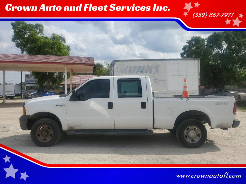 2007 Ford F-250 Super Duty for sale at Crown Auto and Fleet Services Inc. in Ocala FL
