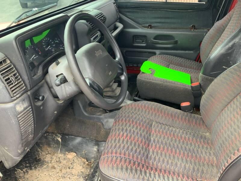1999 Jeep Wrangler 2dr SE 4WD SUV - Traverse City MI