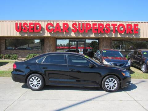 2014 Volkswagen Passat for sale at Checkered Flag Auto Sales NORTH in Lakeland FL
