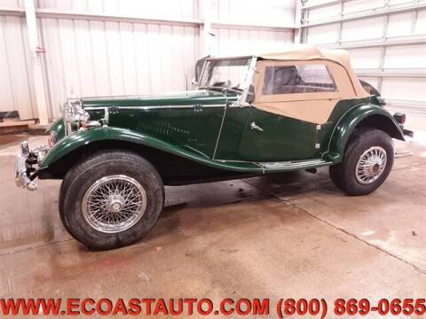 1999 MG TD Kit Car for sale at East Coast Auto Source Inc. in Bedford VA