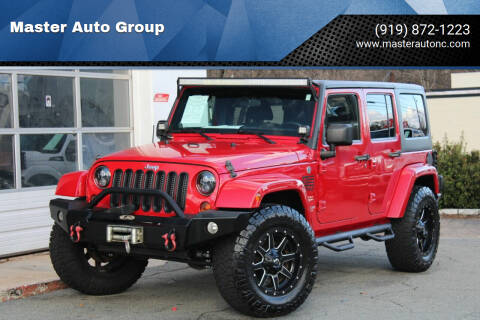 2012 Jeep Wrangler Unlimited for sale at Master Auto Group in Raleigh NC