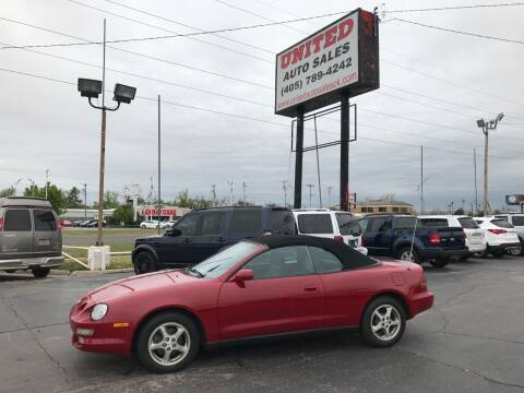 1997 Toyota Celica for sale at United Auto Sales in Oklahoma City OK