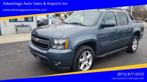 2011 Chevrolet Avalanche for sale at Advantage Auto Sales & Imports Inc in Loves Park IL