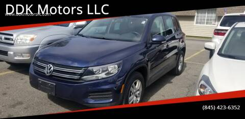 2013 Volkswagen Tiguan for sale at DDK Motors LLC in Rock Hill NY